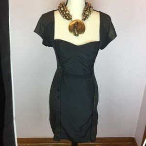 Marc by Marc Jacobs Dress Black And Gold Dress